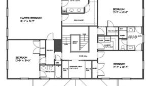 3000 Square Feet Home Plans Classical Style House Plan 4 Beds 3 50 Baths 3000 Sq Ft