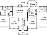 3000 Square Feet Home Plans Colonial Style House Plan 4 Beds 3 50 Baths 3000 Sq Ft