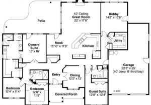 3000 Square Feet Home Plans Ranch Style House Plan 4 Beds 3 00 Baths 3000 Sq Ft Plan