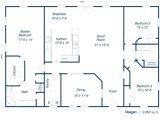 30×50 Metal Building House Plans Best Modern Farmhouse Floor Plans that Won People Choice