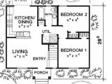 32×32 House Plans Floor Plan for Our Future Ranch House 32×32 Pinterest