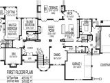 3500 Sq Ft House Plans Two Stories Amazing 4000 Square Foot House Plans One Story