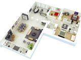 3d Home Plan 25 More 3 Bedroom 3d Floor Plans