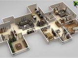 3d Home Plan Creator 3d Floor Plan 25 More 3 Bedroom 3d Floor Plans 2d Floor