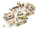 3d Home Plan Creator 3d Floor Plans Cut Section Luminie Studio