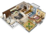 3d Plan Home 13 Awesome 3d House Plan Ideas that Give A Stylish New