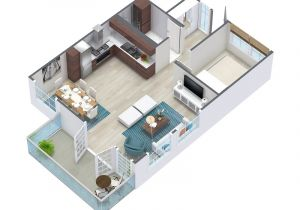 3d Plan Home 3d Floor Plans Roomsketcher