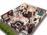 3d Plan Home Design 3d Floor Plans 3d House Design 3d House Plan Customized