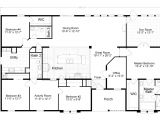 4 5 Bedroom Mobile Home Floor Plans 2 Tradewinds Tl40684b Manufactured Home Floor Plan or