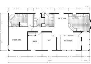 4 5 Bedroom Mobile Home Floor Plans 4 Bedroom 3 5 Bath Mobile Home Floor Plans