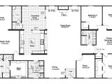 4 5 Bedroom Mobile Home Floor Plans the Floor Plan for the Evolution Model Home by Palm Harbor