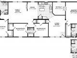 4 Bed 3 Bath Manufactured Home Floor Plans 4 Bedroom 3 Bathroom Mobile Home Floor Plans