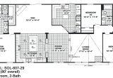 4 Bed 3 Bath Manufactured Home Floor Plans 4 Bedroom Double Wide Mobile Home Floor Plans Unique