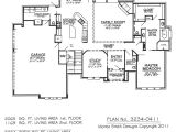 4 Bedroom 2 Bath 2 Car Garage House Plans 3234 0411 Square Feet 4 Bedroom 2 Story House Plan