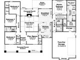4 Bedroom 2 Bath 2 Car Garage House Plans Bungalow Style House Plans 2400 Square Foot Home 1