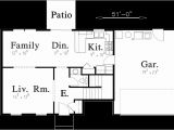 4 Bedroom 2 Bath 2 Car Garage House Plans Colonial House Plan 3 Bedroom 2 Bath 2 Car Garage