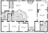 4 Bedroom 2 Bath Mobile Home Floor Plans 4 Bedroom Modular Homes Floor Plans Bedroom Mobile Home