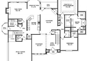 4 Bedroom 3 Bath House Plans with Basement 654258 4 Bedroom 3 5 Bath House Plan House Plans