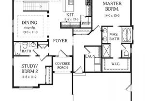4 Bedroom 3 Bath House Plans with Basement Two Bedroom Ranch Style House Plans Fresh Sweet Idea 3