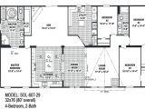 4 Bedroom Double Wide Mobile Home Floor Plans Floor Planning for Double Wide Trailers Mobile Homes Ideas
