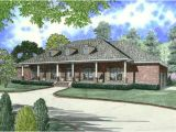 4 Bedroom House Plans with Front Porch southern Style House Plans 2804 Square Foot Home 1