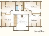 4 Bedroom Log Home Floor Plans Elegant 4 Bedroom Log Cabin Floor Plans New Home Plans