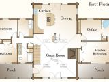 4 Bedroom Log Home Floor Plans New 3 Bedroom Log Cabin Floor Plans New Home Plans Design