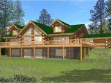 4 Bedroom Log Home Plans Log Homeplans Log Home Design Ghd 1068 15638