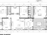 4 Bedroom Mobile Home Plans 4 Bedroom Floor Plan B 6594 Hawks Homes Manufactured