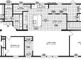 4 Bedroom Mobile Home Plans Large Manufactured Homes Large Home Floor Plans