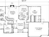 4 Bedroom Ranch Home Plans 4 Bedroom 3 Bath House Plans Homes Floor Plans