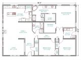 4 Bedroom Ranch Home Plans 4 Bedroom 3 Bath Ranch House Plans 2018 House Plans and