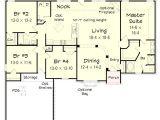 4 Bedroom Ranch Home Plans 4 Bedroom Brick Ranch Home Plan 68019hr 1st Floor