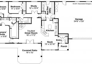 4 Bedroom Ranch Home Plans 4 Bedroom Ranch House Floor Plans 4 Bedroom Ranch Style