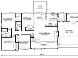4 Bedroom Ranch Home Plans 4 Bedroom Ranch House Plans Plan W26331sd Ranch