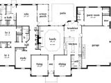 4 Bedroom Ranch Home Plans Ranch House Plan 4 Bedrooms 3 Bath 3231 Sq Ft Plan 18 481