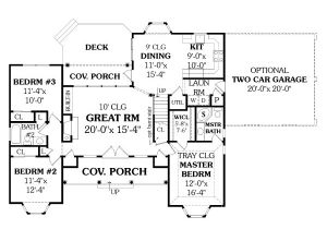 4 Bedroom Ranch House Plans with Walkout Basement Affordable Ranch House Plan