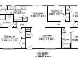 4 Bedroom Ranch Style Home Plans 4 Bedroom Ranch House Plans with Bonus Room Archives New