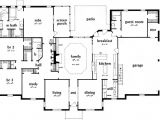 4 Bedroom Ranch Style Home Plans Ranch House Plan 4 Bedrooms 3 Bath 3231 Sq Ft Plan 18 481