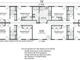 4 Bedroom Single Wide Mobile Home Floor Plans Beautiful 4 Bedroom Mobile Home Floor Plans New Home