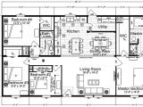4 Bedroom Single Wide Mobile Home Floor Plans Double Wide Floor Plans 4 Bedroom Www Redglobalmx org