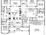4 Level Home Plans Awesome One Story Luxury Home Floor Plans New Home Plans