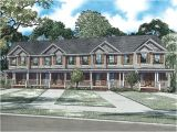 4 Unit Multi Family House Plans Apartment House Plans 4 Living Units Two Story Design