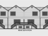 4 Unit Multi Family House Plans Four Plex House Plans 4 Unit Multi Family House Plans F 558