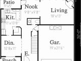40 Foot Wide Lot House Plans Home Plans 40 Feet Wide