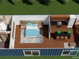 40 Ft Container House Plans Sch2 2 X 40ft Single Bedroom Container Home Eco Home