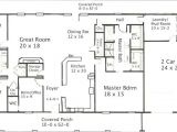 40×80 House Plan Furthermore 40×80 Shop House Plans On 40×80 Barndominium