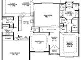 5 Bed 3 Bath House Plans 654193 French Country 3 Bedroom 2 5 Bath House Plan