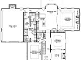 5 Bed 3 Bath House Plans 654259 Traditional 3 Bedroom 3 5 Bath House Plan