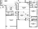 5 Bed 3 Bath House Plans 654265 4 Bedroom 3 5 Bath House Plan House Plans